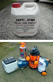 Septic system Auckland tank parts pumps filters Rodney Papakura